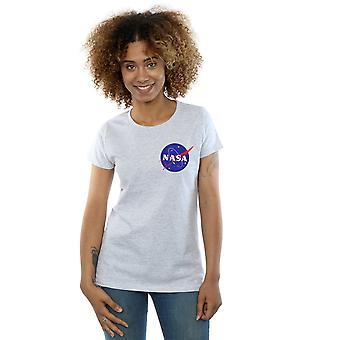NASA Women's Classic Insignia Chest Logo T-Shirt