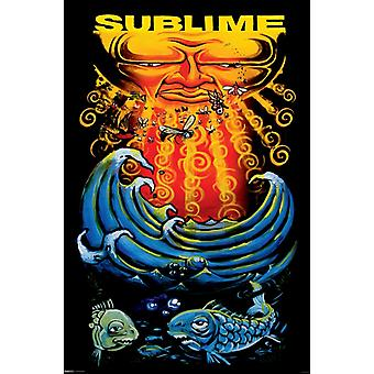 Sublime - Sun & Fish Poster Poster Print