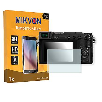 Panasonic Lumix DMC-GX80 Screen Protector - Mikvon flexible Tempered Glass 9H (Retail Package with accessories)