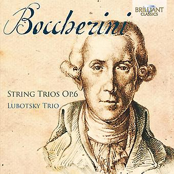 Boccherini / Lubotsky Trio - Boccherini: String Trio's Op 6 [CD] USA import