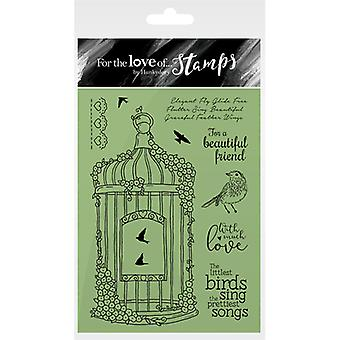 Hunkydory For The Love Of Stamps A6-Blossoming Birdcage FTLS165