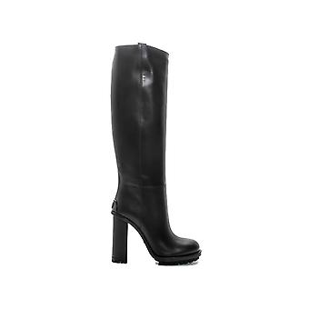 Gucci women's 388302A3N001000 black leather boots