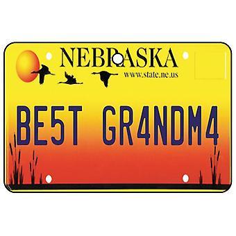 Nebraska - beste oma License Plate auto luchtverfrisser