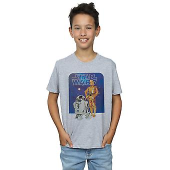 Star Wars Boys R2-D2 And C-3PO T-Shirt