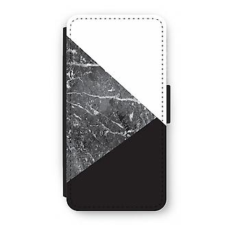 Samsung Galaxy S8 Plus Flip Case - Marble combination