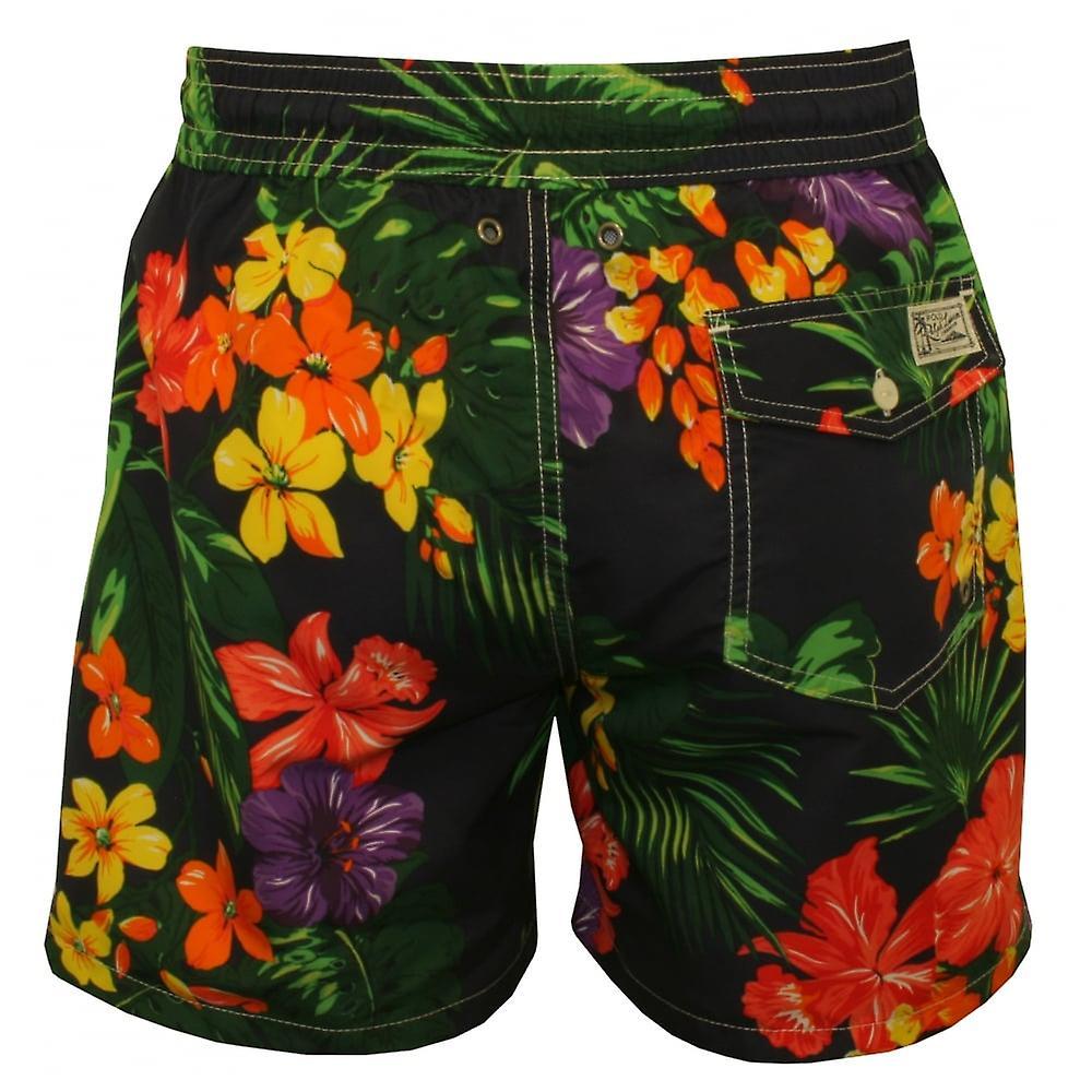 Polo Ralph Lauren Floral voyageur Swim Shorts, Navy/Multi