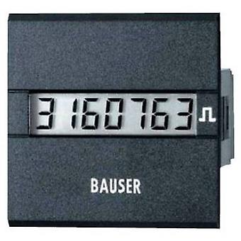 Bauser 3811.2.1.1.0.2 Digital timer or pulse counter - new! Twin solution Assembly dimensions 45 x 45 mm