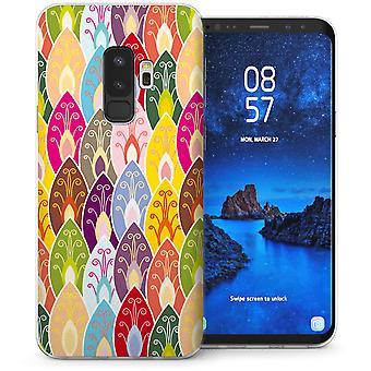 Samsung Galaxy S9 Plus Henna blade TPU Gel sag-gul