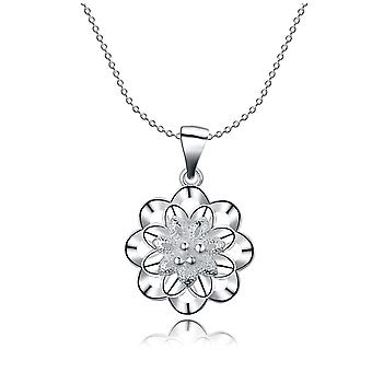 Star Snowflake Pendant Necklace