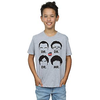 The Big Bang Theory Boys Doctors And Mr T-Shirt
