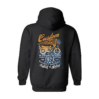Unisex Zip Up Hoodie American Made Tradition Motorcycles