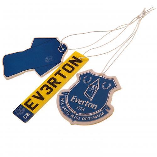 Everton 3pk Air Freshener