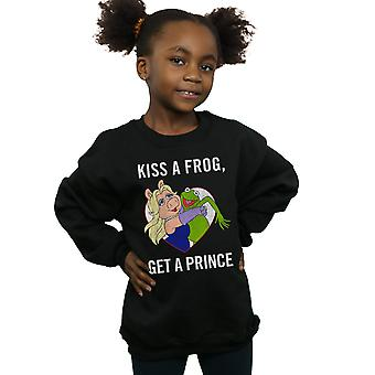 Disney Girls The Muppets Kiss A Frog Sweatshirt