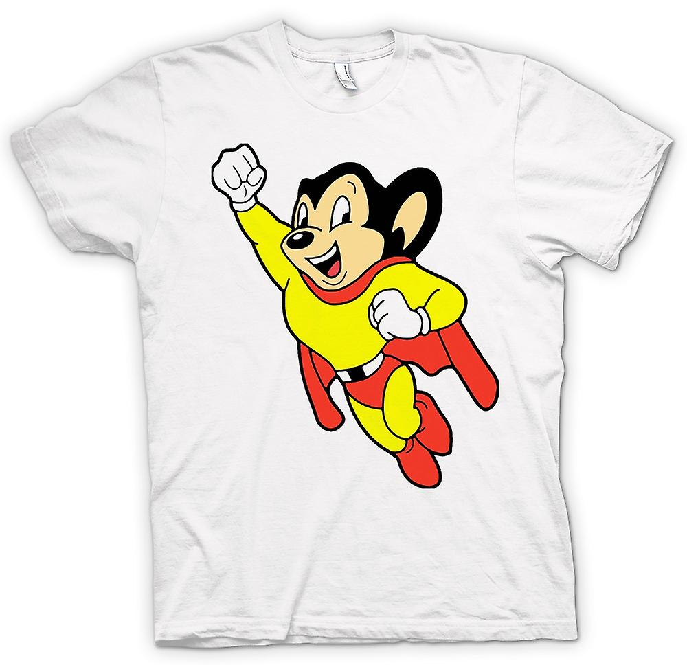 Mens T-shirt - Mighty Mouse - Cartoon - Funny