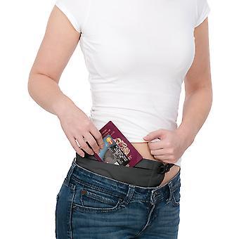 Pacsafe Coversafe V100 RFID blockieren Taille Brieftasche - schwarz