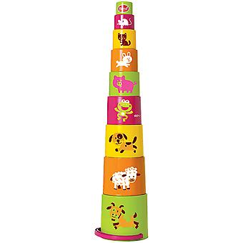 Gowi Toys Animal Stacking Cups