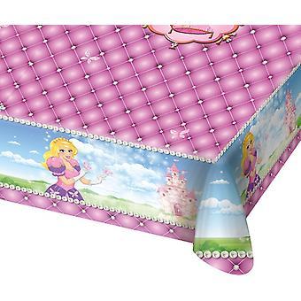 Tischdecke Tablecloth Tischtuch Prinzessin Kinderparty Geburtstag 130x180cm