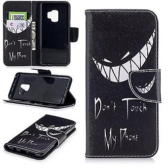 Pocket wallet motif 25 for Samsung Galaxy S9 G960F protection sleeve case cover pouch new