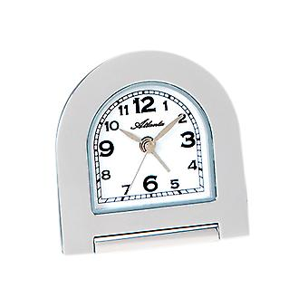 Atlanta 1131 alarm folding alarm clock alarm clock quartz analog chrome colors