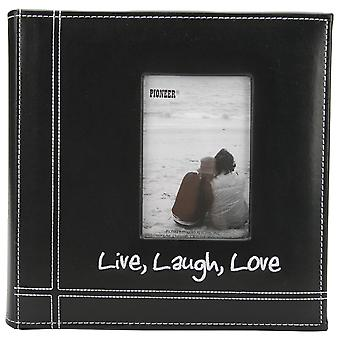Pioneer Embroidered Stitched Leatherette Photo Album 9