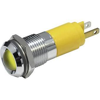 Luz de indicador LED amarillo 230 V AC