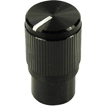 Cliff FC7259 Control knob Black (Ø x H) 10.7 mm x 19 mm 1 pc(s)