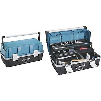 Tool box (empty) Hazet 190L-3 Plastic Black, Blue, Silver