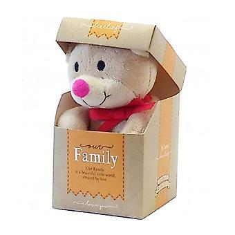 """Berelief cadeau """"Our Family"""""""