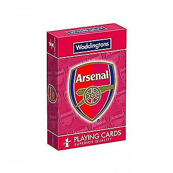 Arsenal Fc Set Of 52 Playing Cards