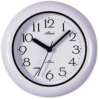 Atlanta bathroom clock quartz water resistant