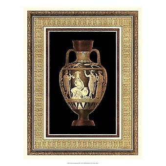 Etruscan Earthenware III Poster Print by Henry Moses (16 x 21)