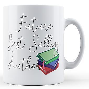 Будущее, самый продаваемый автор - печатные кружки