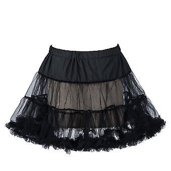 """18 """"50s retro underkjol underklänning underkjol Rock Tutu svart, vit, röd, blå"""