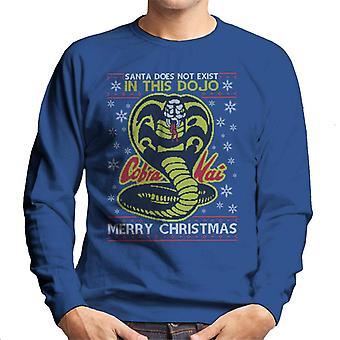 Karate Kid Cobra Kai Christmas Knit Pattern Men's Sweatshirt
