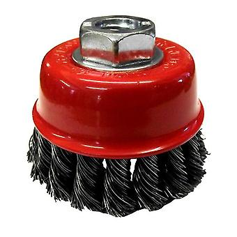 Twist Knot Wire Wheel Cup Brush 75MM/3