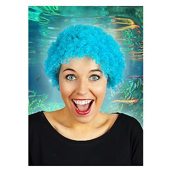 Wigs  Short curly wig turquoise