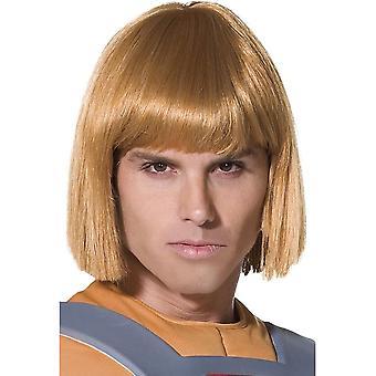 Kurze Blonde gerade Perücke, he-man Perücke, Cartoon Perücke, Kostüm