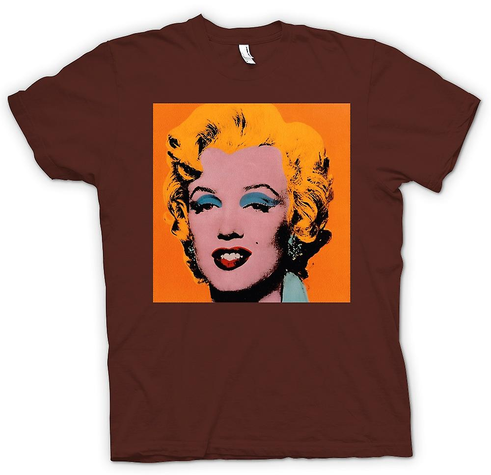 Mens T-shirt - Marilyn Monroe - Warhol - Esq - Pop-Art