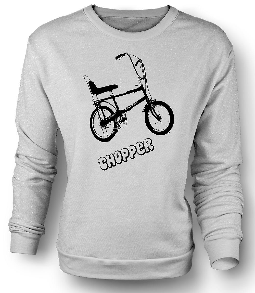 Chopper - Old Skool - Mens felpa Retro bici
