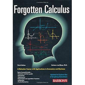 Vergeten Calculus
