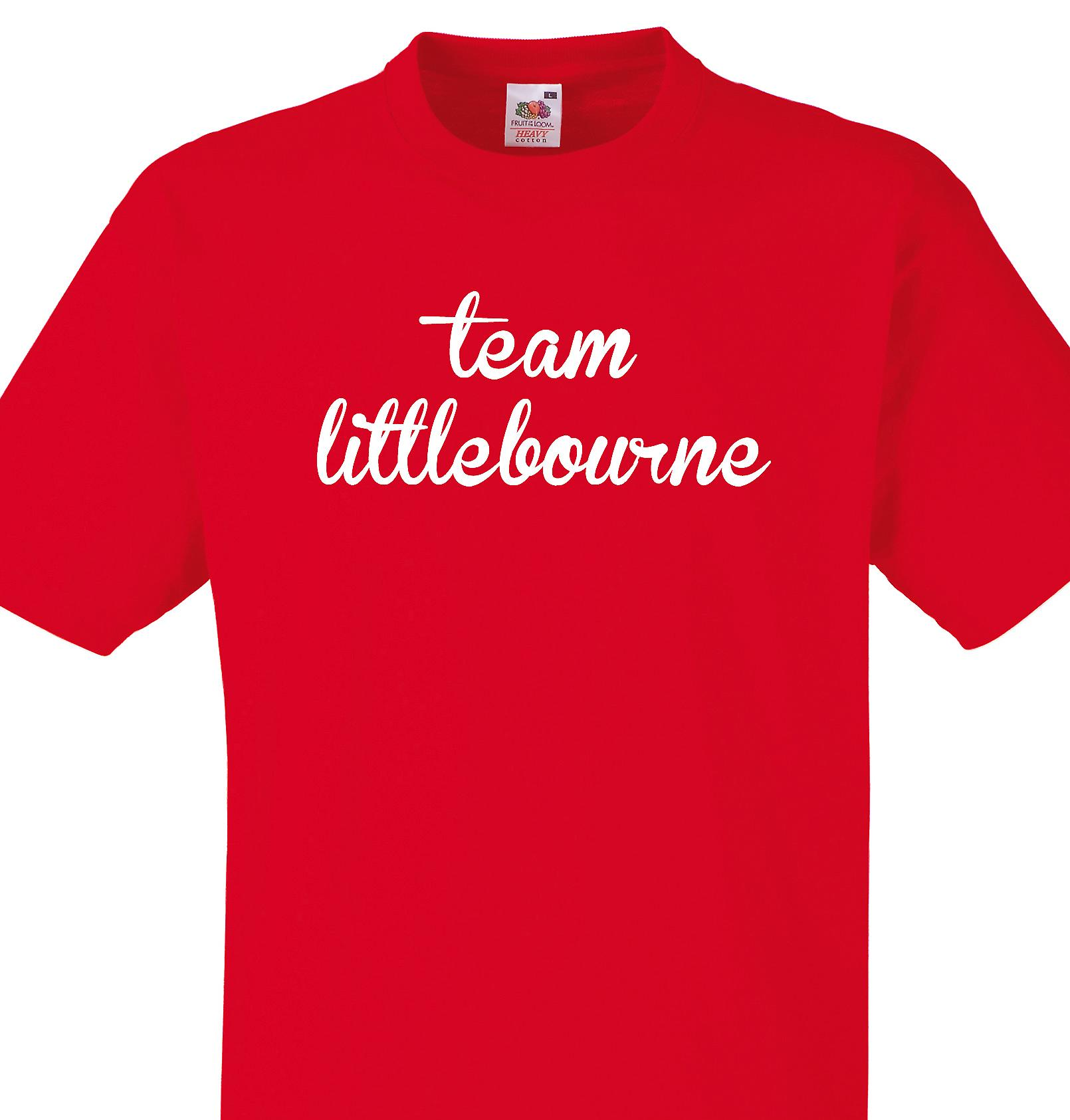 Team Littlebourne Red T shirt