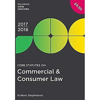 Core säännöt on kaupallinen & kuluttajan oikeuden 2017-18 (Palgrave Core perussääntö)