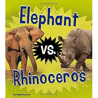 Elephant vs. Rhinoceros (Animal Rivals)