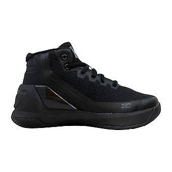 Under Armour PS Curry 3 Black/Black 1276275-001 Pre-School