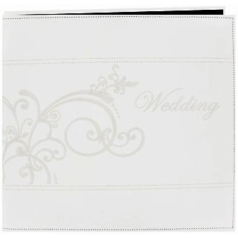 Pioneer Embroidered Scroll Leatherette Post Bound Album 12