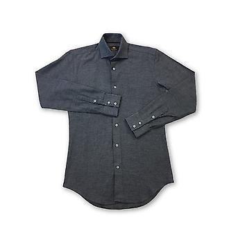 Circle of Gentlemen 'Tempest' Dressed shirt in navy