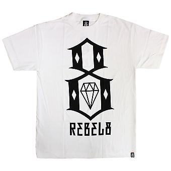 Rebel8 Logo T-shirt White