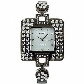 Zaza Londra Diamante Design bianco Dial Ladies Watch LLB 863