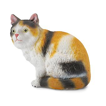 CollectA 3-Colour House Cat - Sitting
