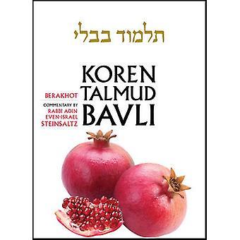 Berakhot by Adin Steinsaltz - 9789653015630 Book